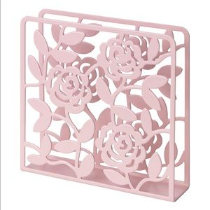 IKEA Metal Roses Napkin Holder New